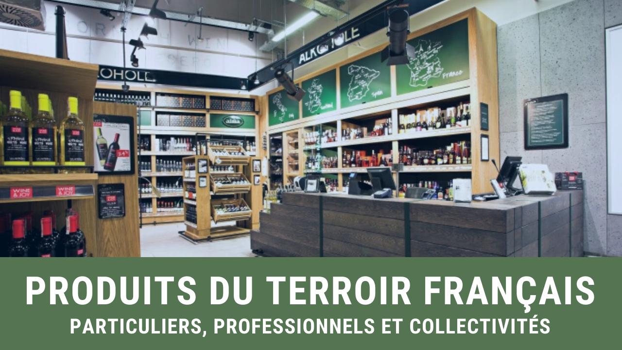 Produits du terroir francais