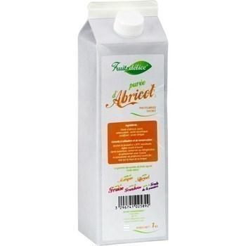 Puree d abricot pasteurisee sucree la brique de 1 kg