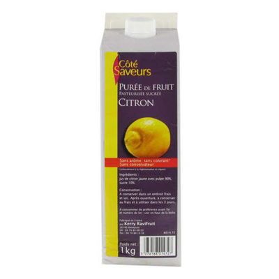 Puree de citron 1 l ravifruit 1
