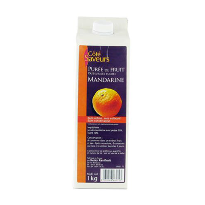 Puree de mandarine 1 l ravifruit 2