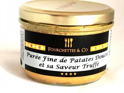 Puree fine de patates douces et sa saveur truffe 180g