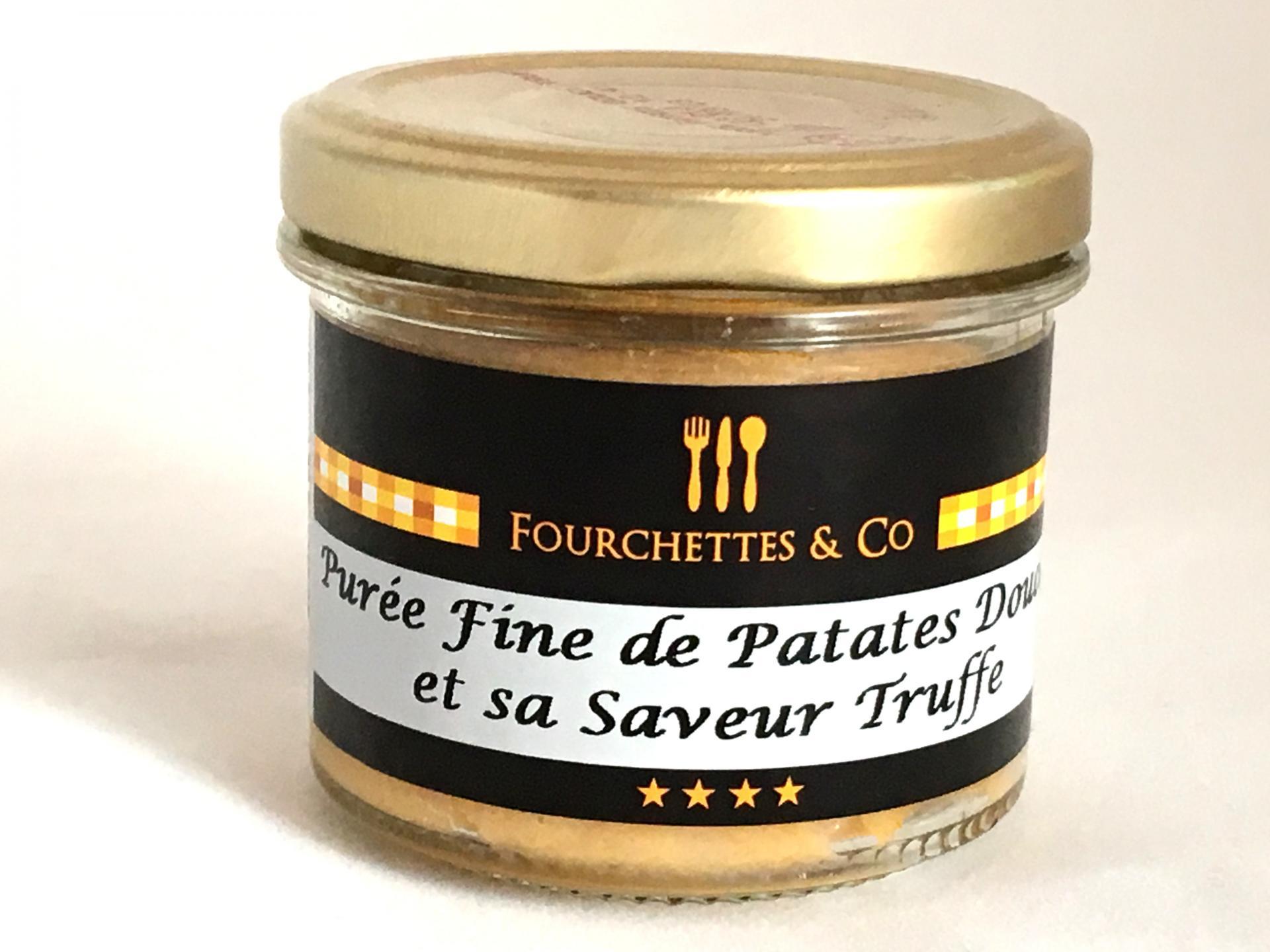 Puree fine de patates douces et sa saveur truffe 90g