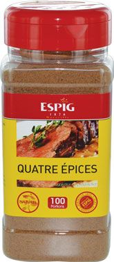 Quatre epices 210 g espig