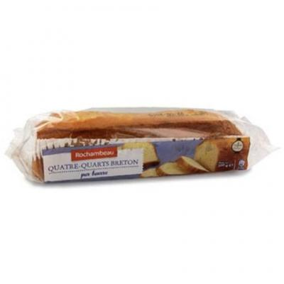 Quatre quart breton pur beurre 500 g rochambeau pour professionnels