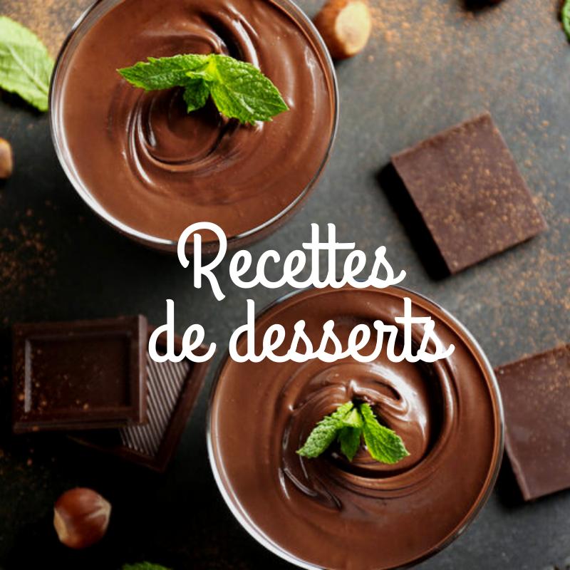 Recettes de desserts sur le site de vente en ligne de produits du terroir