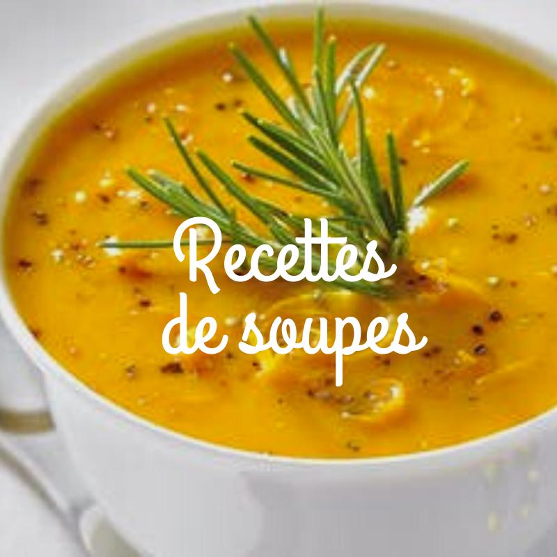 Recettes de soupes sur le site de vente en ligne de produits du terroir