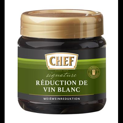 Reduction de vin blanc pot 450 g chef