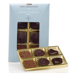 Reglette 6 chocolats guinguet assortis 40g
