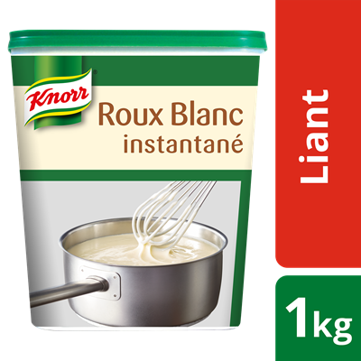 Roux blanc instantane deshydrate 1 kg knorr