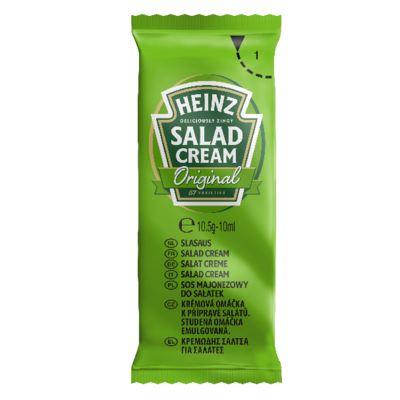 Salad cream 10 ml heinz vendu a l unite
