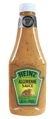 Sauce algerienne 875 ml heinz