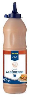 Sauce algerienne 945 g metro chef pour professionnels