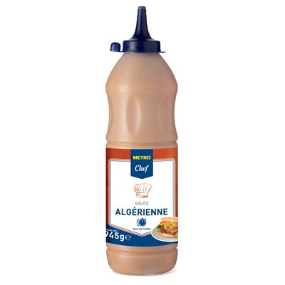 Sauce algerienne 945 g metro chef