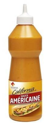 Sauce americaine california 950 ml lesieur pour professionnels