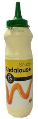 Sauce andalouse 500 ml gilbert pour professionnels