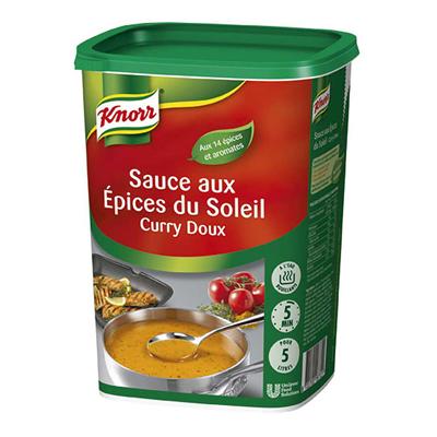 Sauce aux epices du soleil deshydratee 1 kg jusqu a 5l knorr