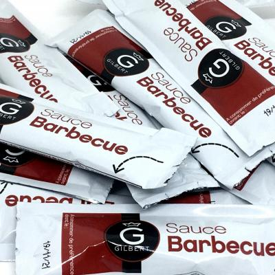 Sauce barbecue 10 g gilbert le lot de 50
