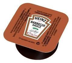 Sauce barbecue 25 g heinz vendu a l unite
