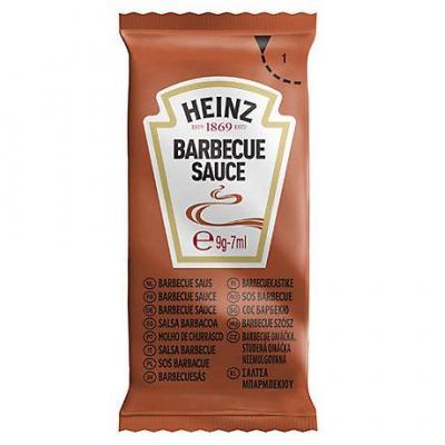 Sauce barbecue dosettes 250 x 7 ml heinz stick a l unite dosette individuelle