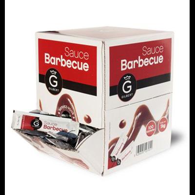 Sauce barbecue en dosette 10 g gilbert vendu a l unite