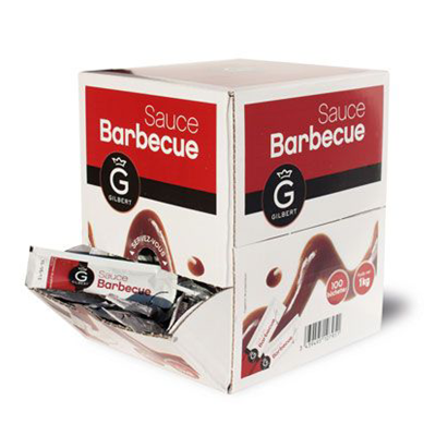 Sauce barbecue en dosette 100 x 10 g gilbert 1