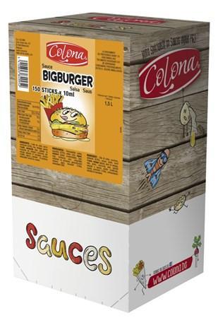 Sauce big burger colona dosettes 150 x 10 g