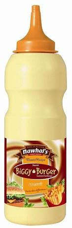 Sauce biggy burger 500 ml nawhal s pour professionnels