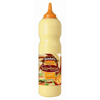 Sauce biggy burger 950 ml nawhal s 1