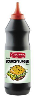 Sauce bourgy burger 950 ml colona pour professionnels