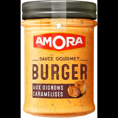 Sauce burger aux oignons caramelises 188 g amora