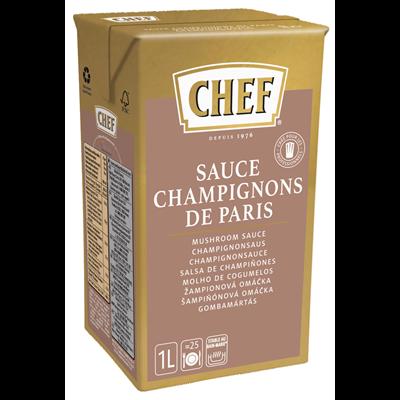 Sauce champignon 1 l chef 1