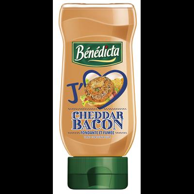 Sauce Cheddar Bacon Flacon 400 ml Bénédicta