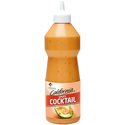 Sauce cocktail california 950 ml lesieur