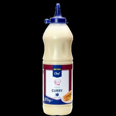 Sauce curry 870 g metro chef 2
