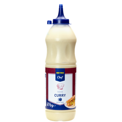 Sauce curry 870 g metro chef