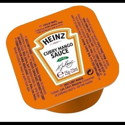 Sauce curry mango 100 x 25 g heinz