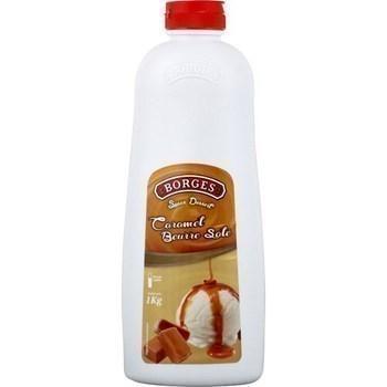 Sauce dessert caramel beurre sale 1 kg