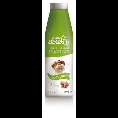 Sauce dessert docello sensations noisette 750 g nestle