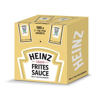 Sauce frite 100 x 17 ml heinz