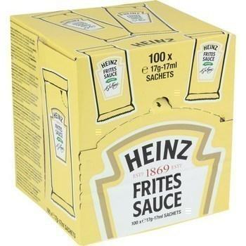 Sauce frites 17 g heinz vendue a l unite
