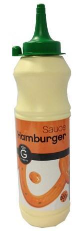 Sauce hamburger 500 ml gilbert pour professionnels