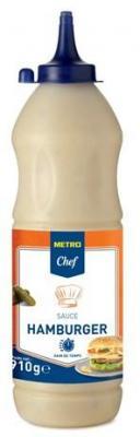 Sauce hamburger 910 g metro chef pour professionnels