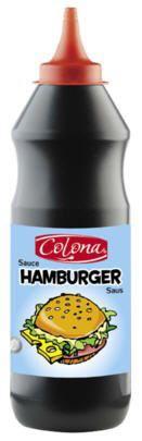 Sauce hamburger 950 ml colona pour professionnels