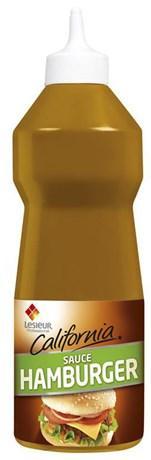 Sauce hamburger california 950 ml lesieur pour professionnels