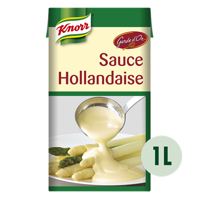 Sauce hollandaise 1 l knorr garde d or
