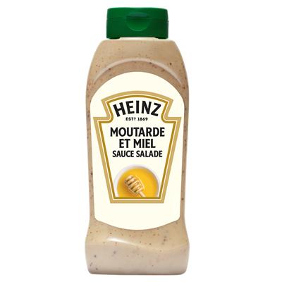Sauce miel moutarde flacon 800 ml Heinz