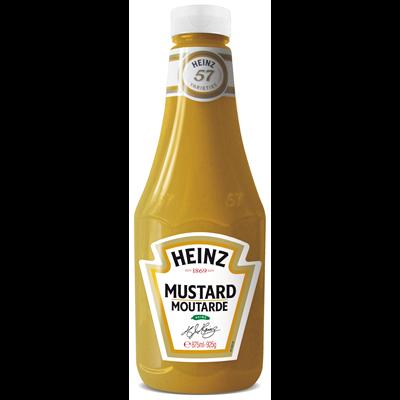Sauce mustard flacon 875 ml heinz 1