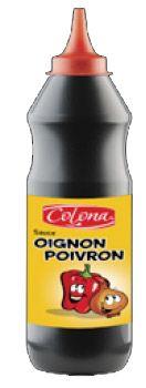 Sauce oignon poivron 950 ml colona 2