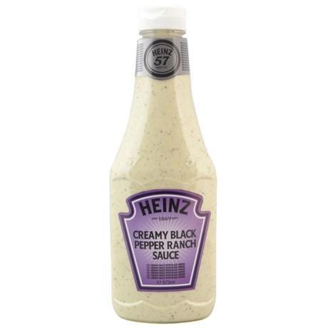 Sauce pepper ranch heinz 875 ml pour professionnels