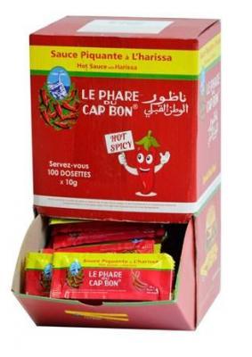 Sauce piquante harissa dosettes 100 x 10 g